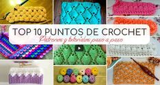 Top 10 puntos de crochet ⋆ Manualidades Y DIYManualidades Y DIY