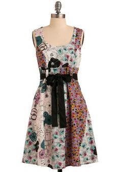 """""""Designs of Grandeur"""" dress from ModCloth"""
