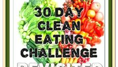30 Day Clean Eating Challenge revisited