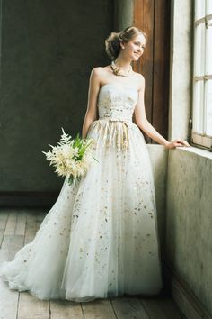 Carolina Herrera Aurora - if I had the money, this would have been my wedding dress! So princess <3