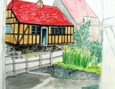 Aquarell, Den Gamle By 2013