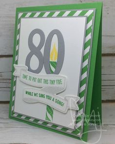 You put out this tiny fire while we sing to you. #birthdaybanners #stampinup #literallymyjoy #papercrafting #cardmaking #stampinupdemonstrator #candle #birthday #cucumbercrush #20162017AnnualCatalog #linkinprofile