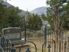 Doc Holliday. After Wyatt left Tombstone for California, Doc Holliday ended up alone in Glenwood Springs, Colorado where he died from the effects of the Tuberculosis that had hounded him for years.