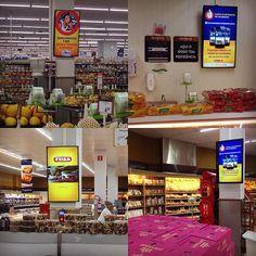 Mais uma loja concluída em nossa rede de #digitalsignage em supermercados. Loja…