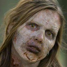 Zombie Prosthetic Make up
