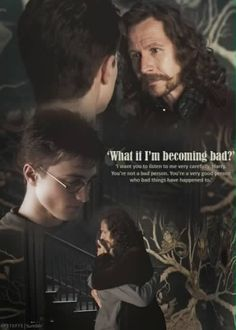 Sirius Black (Gary Oldman) offers Harry Potter (Daniel Radcliffe) words of kindness and wisdom. Images Harry Potter, Saga Harry Potter, Mundo Harry Potter, Theme Harry Potter, Harry Potter Facts, Harry Potter Quotes, Harry Potter Love, Harry Potter Characters, Harry Potter World