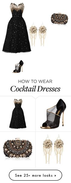"""""""Untitled #618"""" by mokeefe425 on Polyvore featuring Bebe, Casadei and Lipsy"""