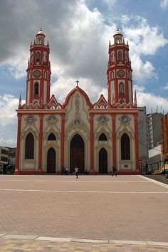 Saint Nicholas Church, Barranquilla, Colombia by gervaso St Nicholas Church, Saint Nicholas, Ecuador, My Father's House, Colombia South America, Religious Architecture, Cathedral Church, Largest Countries, Chapelle
