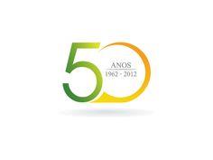 Winning logo Design for a Spanish 50th anniversary