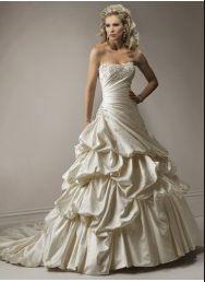 robes de mariée de nouveau modèle de 2011 style avec une jupe bouffante wm0046