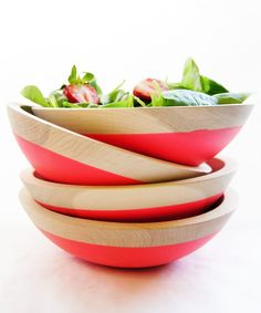 Sunset Dipped Bowls - Spring Fling Collection - Dot & Bo