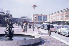 Queens Square, Crawley, Sussex.