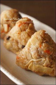 炊飯器で簡単♪「鶏おこわのレシピ」