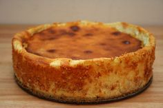Fresh Ricotta Cheesecake -- a blend of Lidia Bastianich's recipe  and from the 1997 Joy of Cooking cookbook.