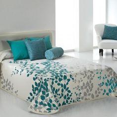 Colcha GEISHA Reig Marti Duvet Bedding, Comforter Sets, Draps Design, Bed Cover Design, Designer Bed Sheets, Grey Duvet, Ideas Hogar, Aesthetic Room Decor, Home Decor Bedroom