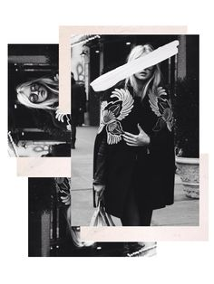 Collage / Graphic / Design / Editorial / Fashion / Black and White / BW / Scrapbook / Magazine Kunstjournal Inspiration, Graphic Design Inspiration, Collage Design, Collage Art, Collages, Mood Board Fashion, Editorial Design, Editorial Fashion, Layout Design