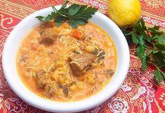 Al-Harira, Moroccan Ramadan Soup. And calories, although of Moroccan origin. Iftar, Harira Soup, Moroccan Soup, Cilantro Chutney, Kinds Of Soup, Soup Recipes, Healthy Recipes, Ramadan Recipes, I Foods