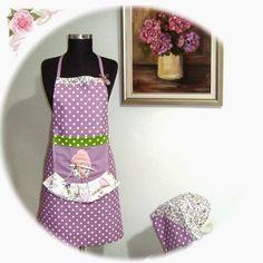 Rengarenkoku: bahar serisi mutfak önlükleri devam ediyor