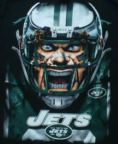 Sold!  Please click on the picture to see other great items in my ebay store.  New York Jets Football T-Shirt - Adult / Unisex Size Large - large graphics are on the front of the shirt; the back of the shirt is plain.  This is an officially licensed NFL product.  It is pre-owned but in excellent condition.