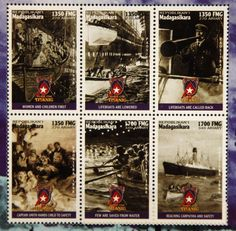 . Madagascar, Titanic, Boats, Nautical, Stamps, Baseball Cards, Children, World, Postage Stamps