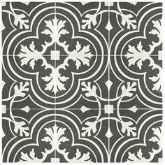 SomerTile 7.75x7.75-inch Thirties Classic Ceramic Floor and Wall Tile (Case of 25) - Free Shipping Today - Overstock.com - 17122748 - Mobile