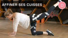 Fitness Master Class - Comment affiner ses cuisses rapidement - Lucile W...