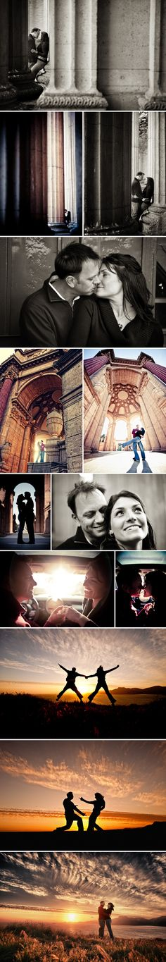 LoicPhoto - Palace of Fine Arts - location for pre-wedding photos  Sunset pics for sure