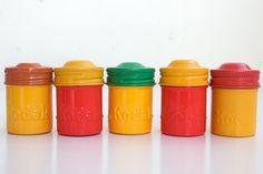 Vintage Kodak film canisters