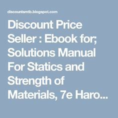 C how to program 9th edition early objects version 9th edition discount price seller ebook for solutions manual for statics and strength of materials fandeluxe Choice Image