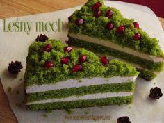 Trzeci Talerz: Ciasto Arbuz Watermelon Cake, Forest Cake, Polish Recipes, Polish Food, Avocado Toast, Banana Bread, Slow Cooker, Sweets, Baking