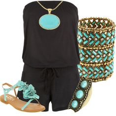 Summer Rompers! by hope-houston on Polyvore