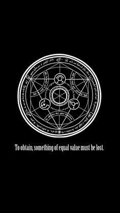 Fullmetal metal alchemist Transmutation circle