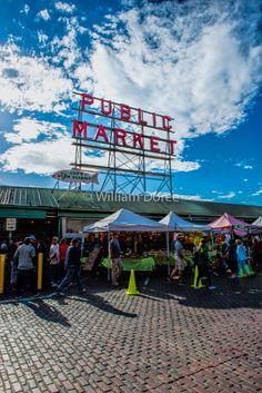 Public Market Seattle Washington fine art photo wall decor