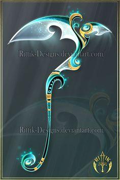 Ghost Scythe (OPEN) Auction by Rittik-Designs