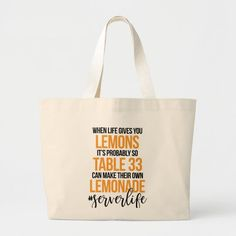 Fashion_Tote_Bags: Products on Zazzle Large Tote, Lemonade, Reusable Tote Bags, Totes, Friends, Products, Fashion, Amigos, Moda