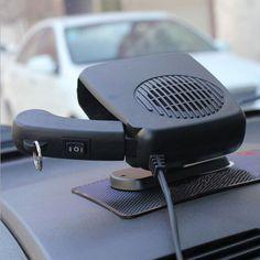 12V Portable Car Ceramic Heating Cooling Heater Fan Auto Defroster Demister Hot #pendoshopWholesale