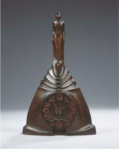 Art Nouveau, Art Deco, Amsterdam School, American Art, Decorative Bells, Clocks, Arts And Crafts, Antiques, Furniture