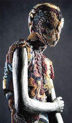 'Queen of Pearls' by Johny Dar Mannequin Art, Human Art, Visual Merchandising, Art Forms, Sculpture Art, Painting & Drawing, Artwork Ideas, Window Displays, Pearls