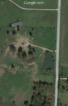 Wagner farm aerial view