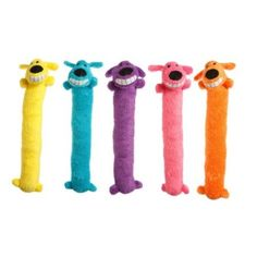 "Amazon.com: Loofa Dog 12"" Plush Dog Toy, Colors May Vary: Pet Supplies"