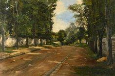 Route à Mortefontaine by LOUIS ABEL-TRUCHET