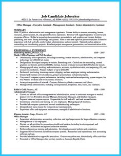 administrative assistant resume sample is useful for you who are now looking for a job as - Resume Samples Administrative Assistant