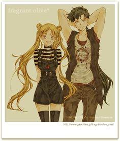 Seiya y Serena