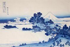 Love Japanese woodblock prints. This one by Katsushika Hokusai.