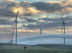 Wind farms are making a major contribution to lower electricity prices in South Australia, with bills set to fall on average. Electricity Prices, Electricity Bill, Average Electric Bill, Off Grid House, Blown Away, Power Energy, Wind Power, Alternative Energy, South Australia