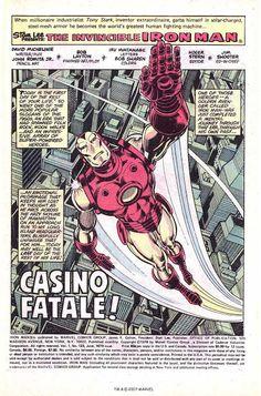 Making a Splash: John Romita Jr. and Bob Layton's Iron Man