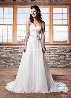 3706, Sincerity Bridal lindo e simples