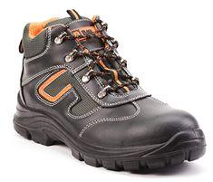 675f3a35cb84dc Black Hammer Bottes de sécurité en Cuir pour Hommes Bottes de sécurité pour  Hommes S3 SRC Chaussures de sécurité avec Embout en Acier Chevilles en Cuir  6652