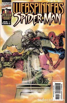 WEBSPINNERS: TALES OF SPIDER-MAN, SERIE LIMITADA DE 18 NÚMEROS COMPLETA, MARVEL, 1.999, USA.