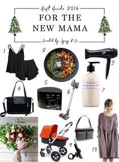 Holiday Gift Guide for the New Mama